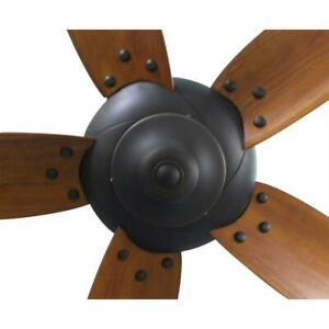 Decorative Nut Replacement Parts Altura 68 in. Oil Rubbed Bronze Ceiling Fan