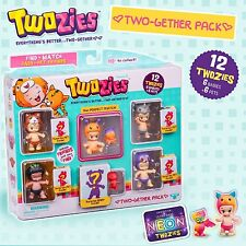 Twozies Series 1 Party Pack Two-Gether 12 Figure Pack 6 Babies & 6 Pets