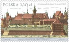 Poland / Polen 2019 - Fi 4966** 400th anniversary of the Royal Castle in Warsaw