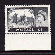 GREAT BRITAIN 1955-58 £1 1st DE LA RUE PRINTING SG 539a MNH.