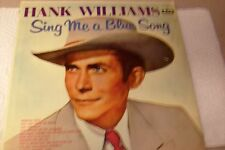 Hank Williams, Sing Me A Blue Song, 33RPM