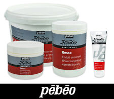 Pebeo Studio Acrylic Gesso Painting Primer in 4 Available Sizes