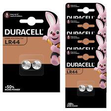 10 x Duracell LR44 1.5V Batteries LR 44 A76 AG13. (5 x 2 pack) EXPIRY 2024