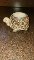 Vintage Counterpoint Japan Turtle Tealight/candle Holder Speckled