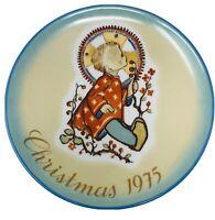 Schmid 1975 Christmas Collector Plate Sister Berta Hummel w/Original Box