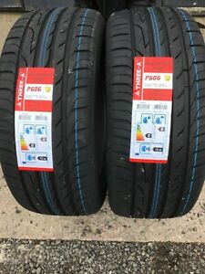 NEW 2 X 265 45 ZR20 104W M+S THREE A P606 NEW TYRES AMAZING WET GRIP B 2654520