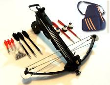 50 lbs PIRANHA fishing  pistol crossbow  6 mm balls magazine with carrying bag