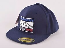 2017 NWT MENS ELEMENT HODGES HAT $35 7 1/4-7 5/8 eclipse navy fitted cap