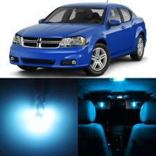 11 x ICE BLUE Interior LED Lights Package For 2008 - 2014 Dodge Avenger +TOOL