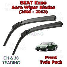 (08-13) Seat Exeo Aero Wiper Blades / Front Windscreen Flat Blade Wipers Exeo ST