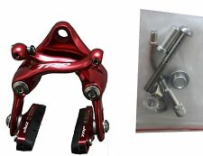TRP T925 Brems-Set rot für vorn und hinten mit Titan Hardware
