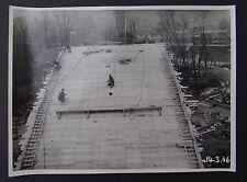 Photo 1946 construction viaduc PONT DE MULHOUSE Nogent sur Marne Le Perreux 4
