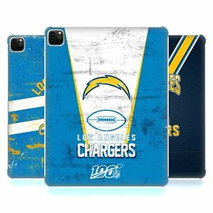 OFFICIAL NFL LOS ANGELES CHARGERS LOGO ART HARD BACK CASE FOR APPLE iPAD