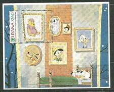 "GUYANA 2486 MNH SOUVENIR SHEET ""WALT DISNEY CHRISTMAS CARD"" SCV 6.00"