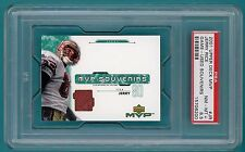 2001 UD MVP, Jerry Rice Game Used Issue - #JR PSA 8.5! 49ers! POP 1!