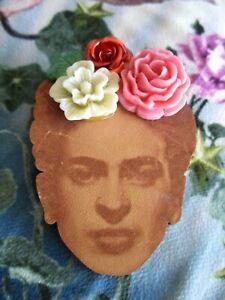 Tatty Devine large Frida Kahlo Brooch