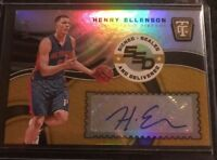 2017-18 Totally Certified Henry Ellenson Gold SSD RC Auto Autograph /10 RAPTORS