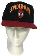 Marvel Spider-man 1993 NEW  trucker snapback Annco hat Black Red