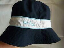 013d8903e2d80 Old Navy children s reversible bucket hat white floral solid navy blue 2T -  3T