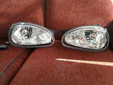 Reliant robin mk3 Vauxhall Corsa mk1 headlights angel eye brand new