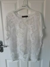 TK MAXX sheer floral top size S/M