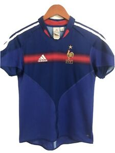 Adidas Climacool France 2004 Vintage Soccer Jersey  Youth (L)