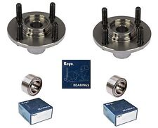 1994-2001 ACURA INTEGRA Front Wheel Hub & (OEM) (KOYO) Bearing Kit (PAIR)