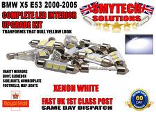 COMPLETE LED INTERIOR UPGRADE KIT x21 LED BULBS BMW X5 E53 2000-2006