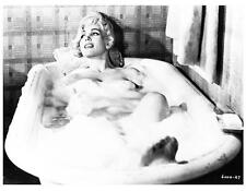 TERRY MOORE in tub 8x10 still WHY MUST I DIE -- g322
