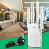 300Mbps Wireless WiFi Repeater Router Range Extender Signal Booster US Plug New