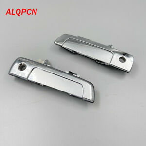 1 pair Front Door out handle chrome for mitsubishi galant Sebring dodge Stratus