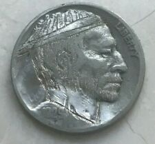 1929 Buffalo Nickel - Hobo Nickel - Unsigned