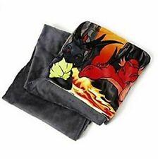 Nici Dragon Children's Plush Throw Blanket 144x120cm