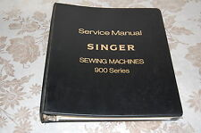 Professional Service Manual on CD for Singer 900 and 920 Futura Sewing Machines.