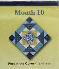 Jo Ann Fabric Quilt Blocks Mystic Blues Kits U Pick Block of The Month 10