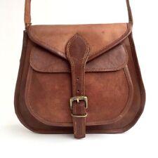 New Women Distressed Leather Shoulder Bag Tote Purse Handbag Messenger Crossbody