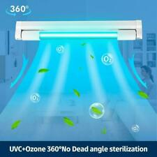 10W UVC Germicidal Lamp UV Sterilization Aluminum Quartz Ultraviolet Light T5