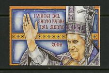 Vatican City 2007  #1370A   Travels of Pope Benedict  COMPLETE BOOKLET MNH  L967