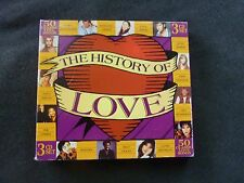 THE HISTORY OF LOVE RARE 3 CD SET BOXSET! JOHN FARNHAM JENNY MORRIS PAUL YOUNG