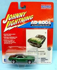 593 JOHNNY LIGHTNING / AD RODS / CHEVY CAMARO SS 1/64
