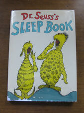 SLEEP BOOK by Dr. Seuss  - 1st/1st state -   HCDJ 1962  - 295/295