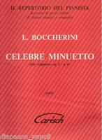 Boccherini: Berühmte Minuetto Für Klavier - Carisch
