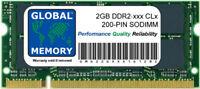 2gb Ddr2 533/667/800mhz 200 pines SODIMM Memoria RAM para portátiles/Netbooks
