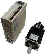 750 watt Teco AC Brushless Servo motor and drive + power and encoder cables