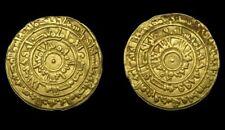 ISLAMIC GOLD FATIMID AV DINAR AL MU'IZZ 361 AH  ( AUR )  AL MANSURIYA  , RARE