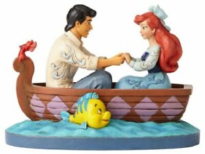 Jim Shore Disney Waiting For A Kiss Ariel and Prince Eric Figurine 4055414 New