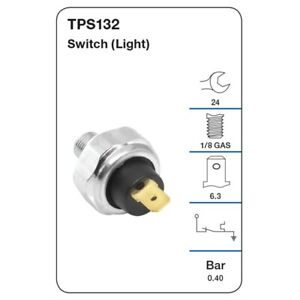 Tridon Oil Pressure Switch TPS132 fits Daewoo Matiz 0.8