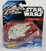 Star Wars Hot Wheels MILLENNIUM FALCON Includes Flight Navigator COLLECTIBLE