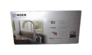 MOEN Noell Single-Handle Standard Kitchen Faucet Stainless