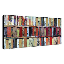 Modern Hand-Painted Oil Painting Canvas Wall Art Abstract Book Home Decoration